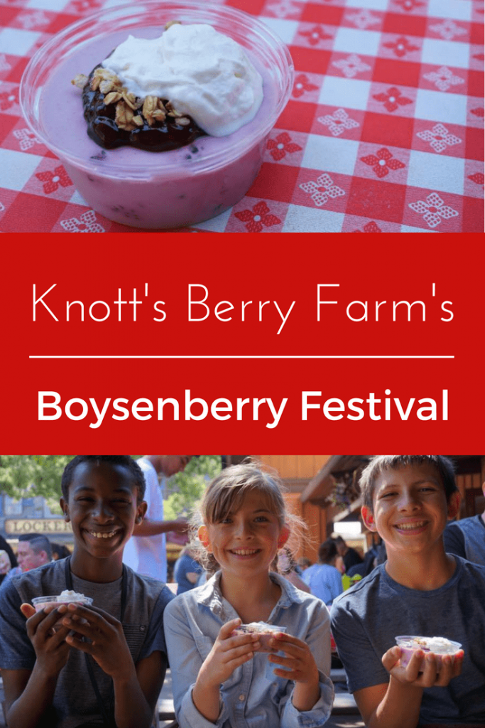 3 Reasons to Visit Knott's during the Boysenberry Festival. Read on to learn why it is our favorite time of year to visit this beloved SoCal Theme Park