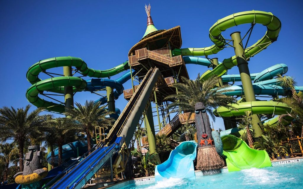 Volcano Bay Rides! For all the thrill seekers out there, you can experience 18 slides including the first-of-its-kind aqua coaster, Krakatau Aqua Coaster. Each slide has a personality of its own which gives you a different adventure down each one.