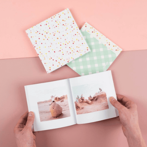 I am OBSESSED with these Chatbooks. I mean simple, gorgeous, and affordable. You can't ask for anything more. Learn how to get your FREE book by clicking through to my post.