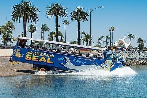 San Diego with Kids - Seal Amphibious TOur
