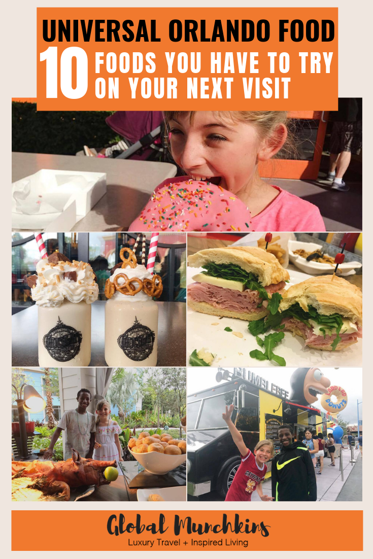 Universal Orlando is one of our absolute favorite places to go as a family. You can read all about our Top Tips for Universal Orlando here and check out some of our favorite foodie finds and be sure to check them out on your next trip. #universalorlando #universalorlandoresort #food #travel #traveltips #foodie #foodreviews