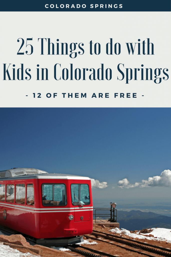 Orlando Kia North >> 25 Kid Friendly Things to do in Colorado Springs [ 12 of ...