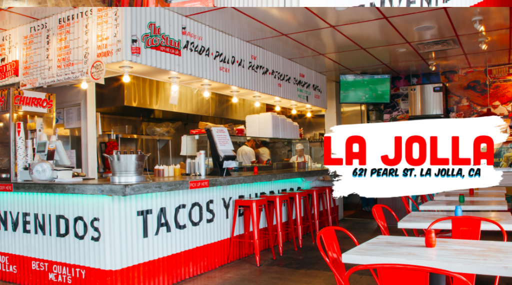 The best food in La Jolla can be found at the cheap little stand aptly named The Taco Stand on Pearl Street in La Jolla