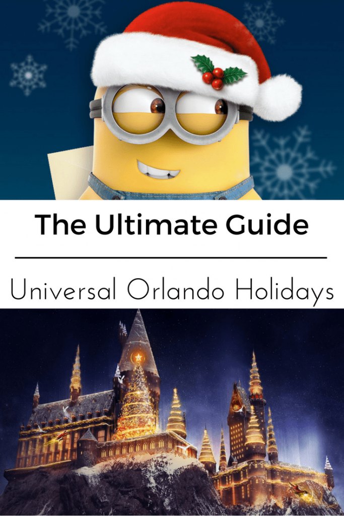 The Ultimate Guide- Universal Orlando Florida Holidays. Everything you wanted to know about the Thanksgiving and Christmas events going on in the parks and at the hotels this year at Universal Orlando Resort.