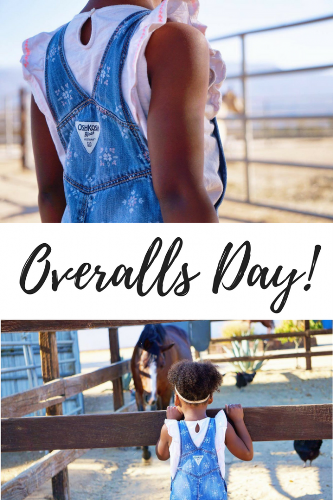 AD Celebrate OshKosh B'gosh's adorable overalls on Overalls Day. The best made up social holiday ever!!! Seriously, what is cuter than a kid in overalls?? Click through to see some of the cuteness.