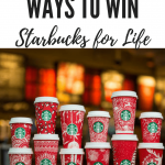 super secret way to win starbucks for life