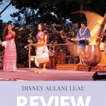 Disney Aulani Luau