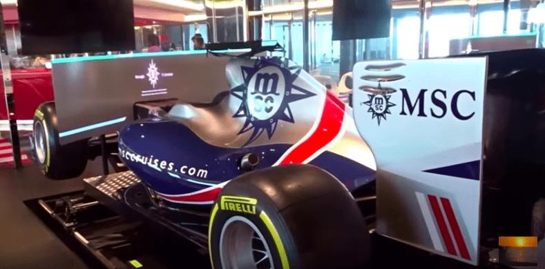 F-1 Race Simulator MSC Meraviglia