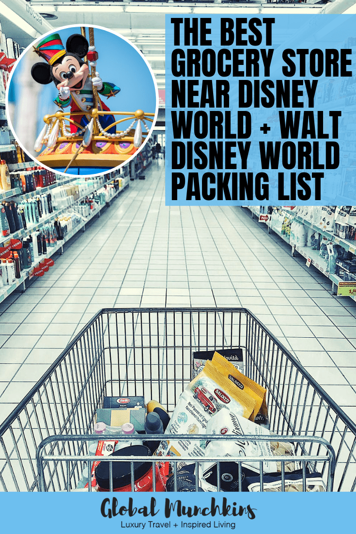 It is no secret that a Disney vacation costs a pretty penny. However, seasoned Disney vacationers like ourselves have a few tricks up our sleeve to help us save both time and money. One of the best ways to do this is by stopping by the Walmart near Disney World to stock up on essentials before heading to your hotel. Wait there's more, here's Walt Disney World packing list for you as well! #disney #travel #vacation