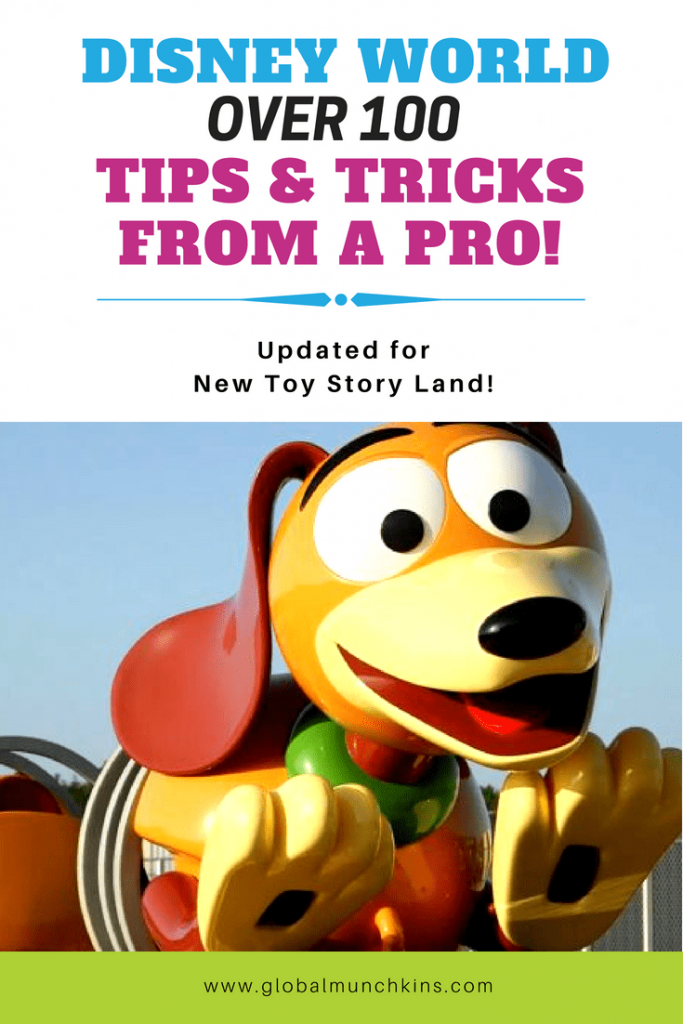 Disney World Tips & Tricks - Over 100 Great Tips from a Mom of 5 who has visited Disney World over 25 times! Updated for the New Toy Story Land!