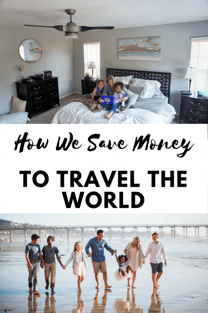 AD Learn how a few simple changes in your daily expenses can help you save enough money to travel the world with your kids. Our Hunter SIMPLEconnect Fan is one of the ways we save money. Plus the included Hunter Fan Remote is super convenient too.