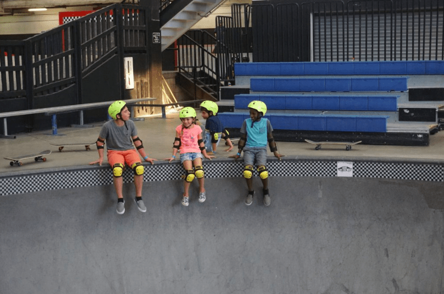 Things to do in Anaheim Com Pool at Vans Skatepark in Orange County | Global Munchkins