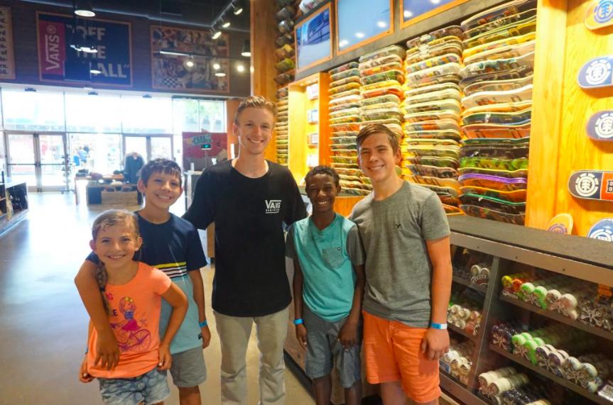 Vans Skate Lessons in Orange County