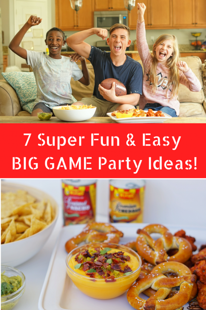 AD- Find incredible + Super Easy Big Game Party Ideas including simple and delicious party snacks like Rico's Nachos and Awesome Party Games and Ideas the whole family will love. These are perfect for your next Super Bowl Party.