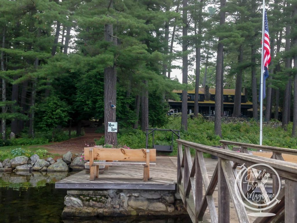 Migis Modge in Maine is a fantastic luxury resort for families.