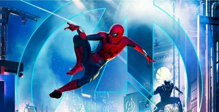 New Disneyland Rides - Spiderman