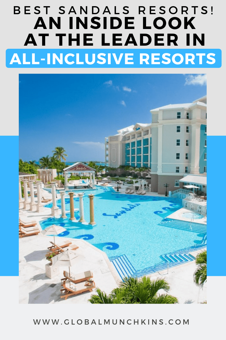 We have broken down the Best Sandals Resorts by different categories to help you decide which Sandals resort is best for your next vacation! #sandalsresorts #resorts #traveltips #familyvacation #travel #vacation #resort #guide #review