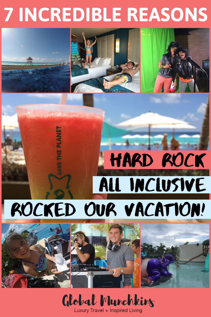 If you are looking for a family-friendly resort where you can truly unwind, be catered too that your kids will love and where you will come home actually feeling like you had a vacation (and not that you need a recovery trip after your vacation) than you MUST book a trip at the Hard Rock Cancun. #hardrockcancun #vacation #familyfriendly #familyvacation #traveltips #review