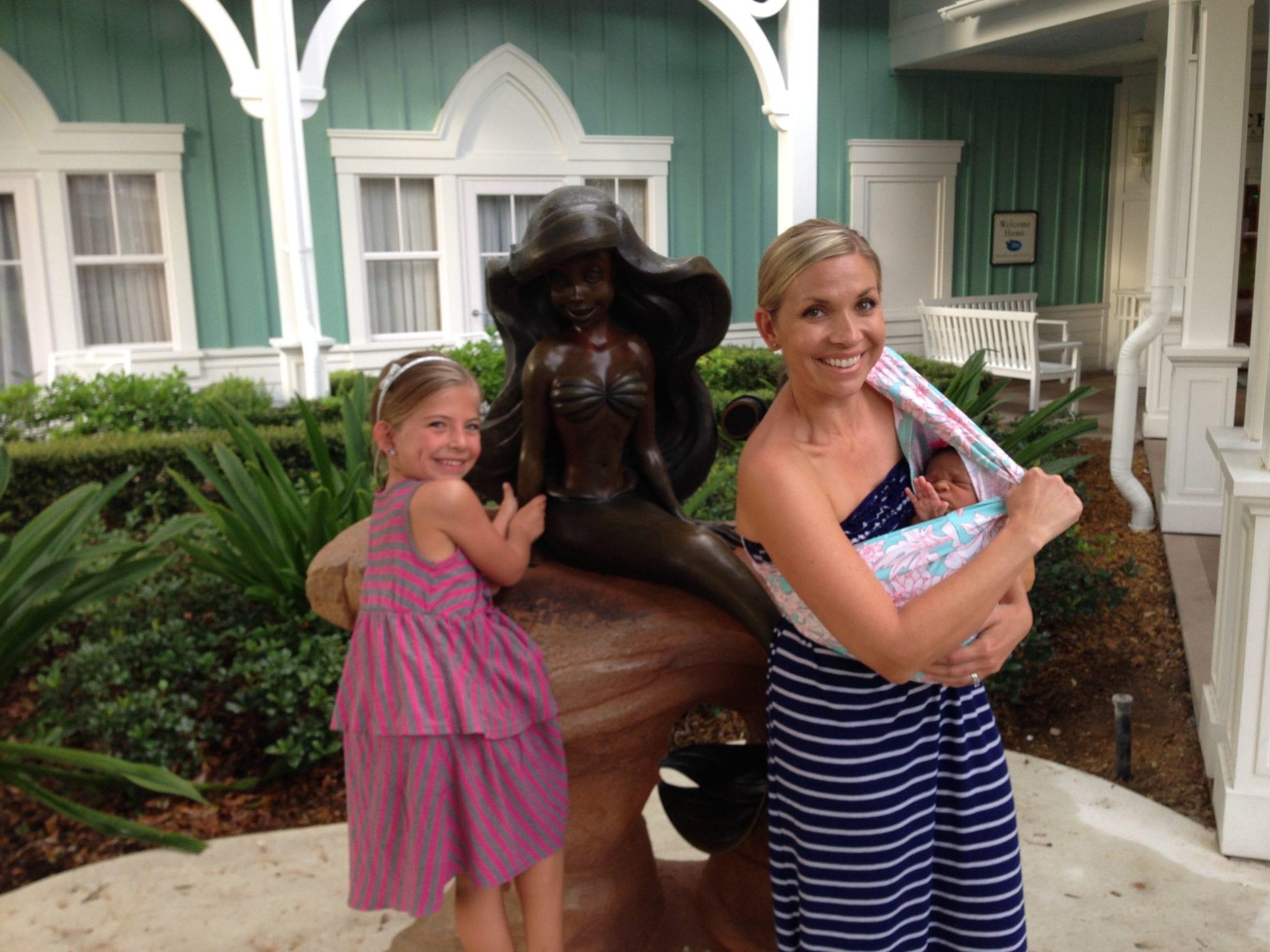 Disney Magic- Olivia's first trip