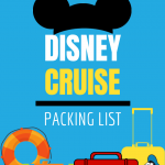 the ultimate disney cruise packing list