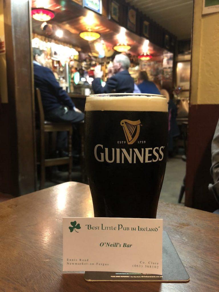 O'Neills Pub Newmarket on Fergus
