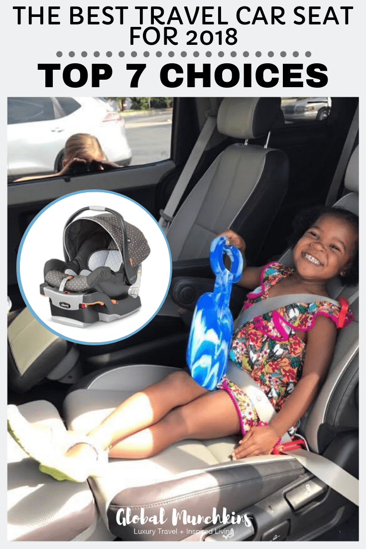 If you love to explore the world like our family, you might just have a few extra requirements for your car seat on top of the million other things. While you might want one car seat for when you're home, you will probably want to look into another to go on travels with you. Finding the best travel car seat is no easy feat, but we hope this article will make it a little easier for you! #travelcarseat #babygear #carseat #review #traveltips #travelwithkids