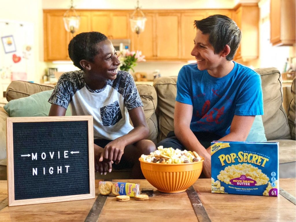 3 Tips for a Great Family Movie Night (+ Fandango offer)
