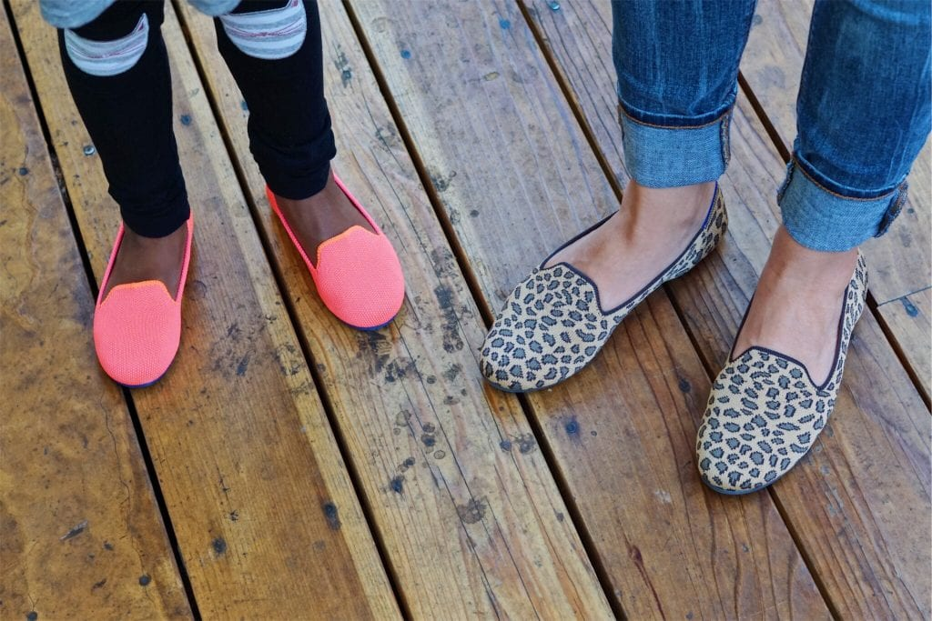Cute Mom and Me Sustainable Shoes from Rothy's