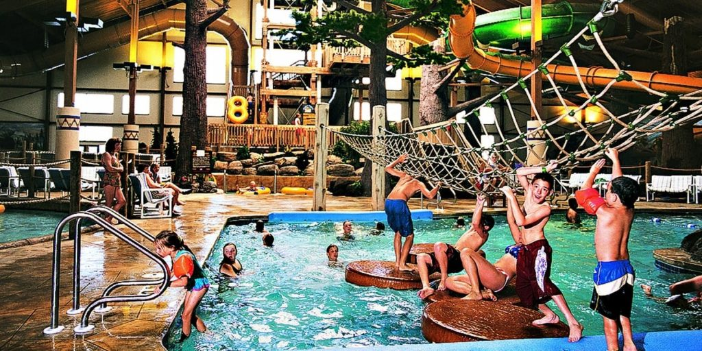 Timber Ridge Lodge and Water Park indoor waterparks