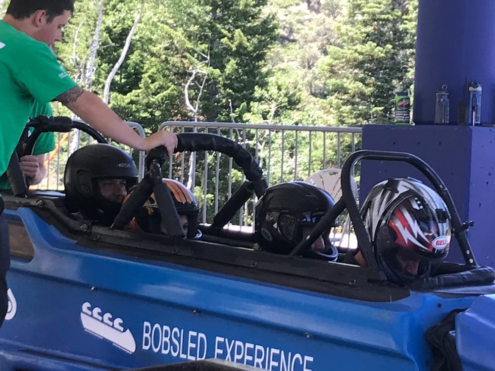 Park City Summer: Olympic Park Bobsled
