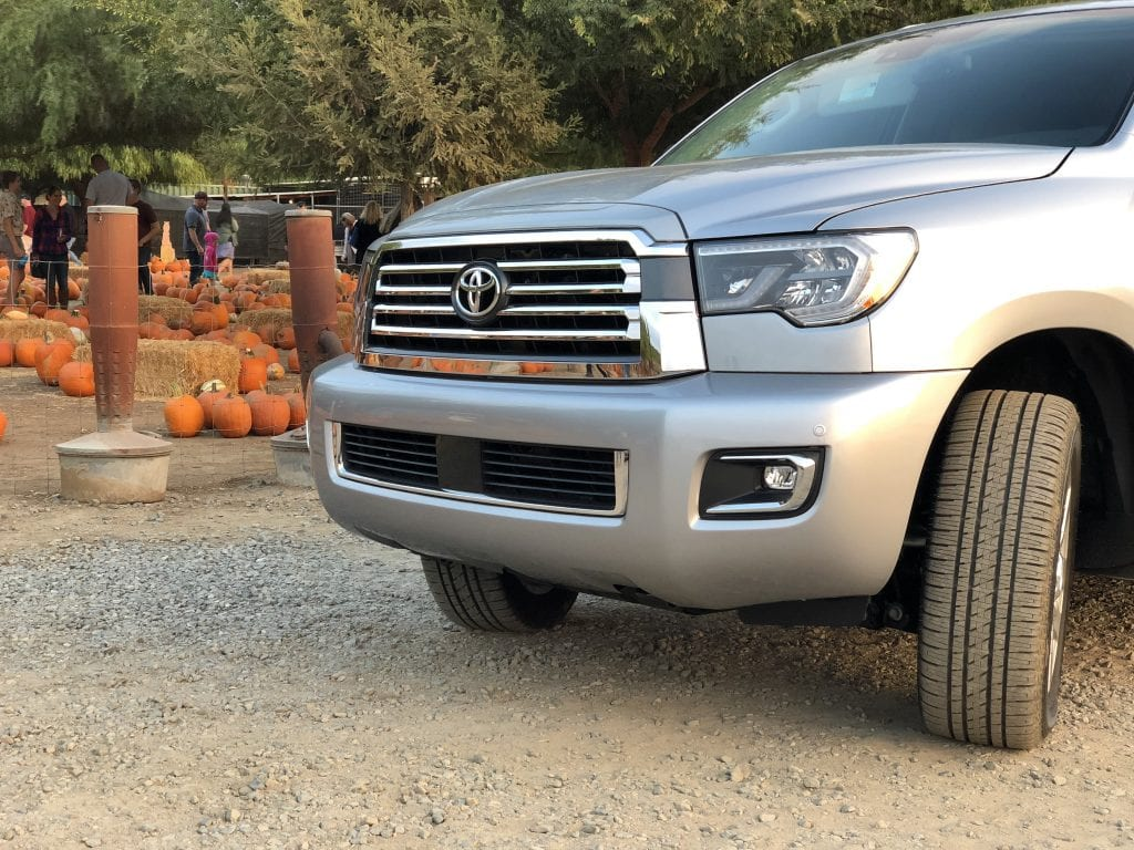 Fall Fun in the 2019 Toyota Sequoia Platinum