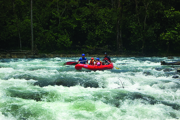 White Water rafting in Sarapiquí and Peñas Blancas Rivers