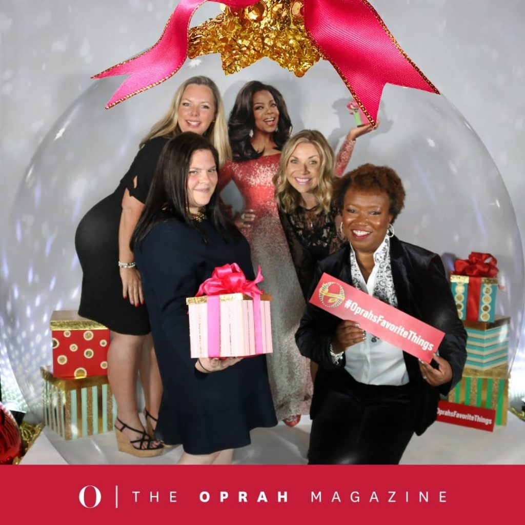 OMAGInsiders at Oprah's Favorite Things 2018