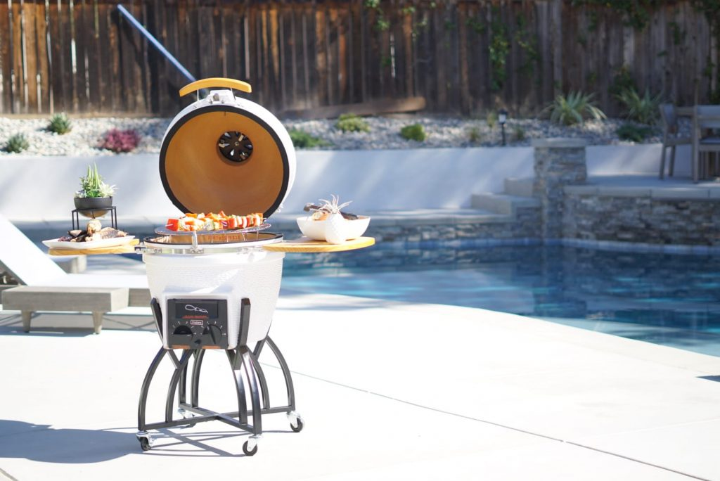 The Grill Every Hostess Deserves- the BEST Kamado Grill