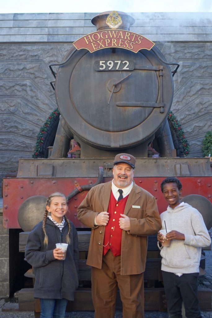 Christmas at Harry Potter Land