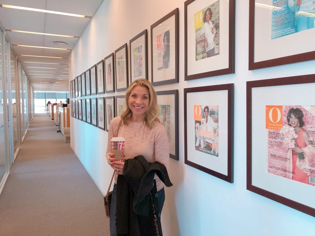 Touring the Oprah Magazine Offices in NYC
