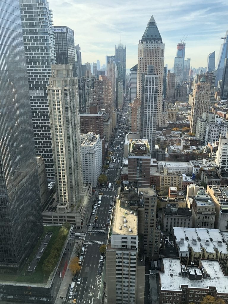 Hearst Tower View