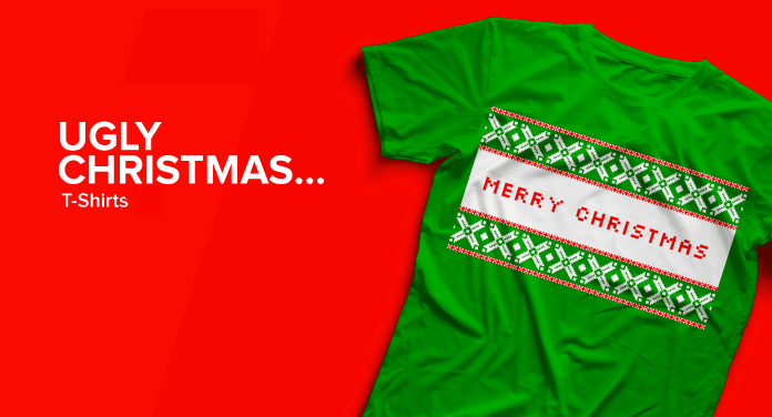 25 of the Best Ugly Christmas Tee Shirts- Perfect for a Warm Christmas