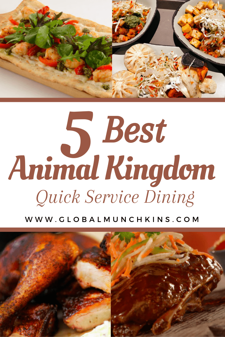 So, since you are going to be spending a full day and possibly more at Animal Kingdom we thought it would be nice to have a guide to the best Animal Quick Service Dining Options! #dining #food #foodie #guide #foodreview #animalkingdom #traveltips #vacation #travel