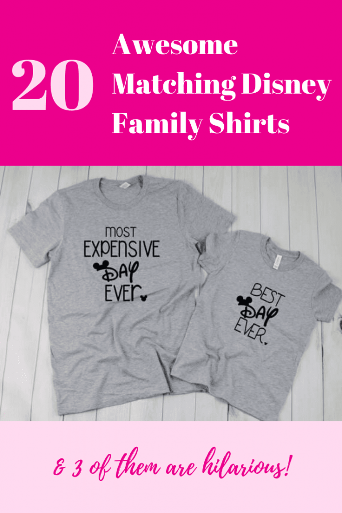 Awesome Disney Family Shirts