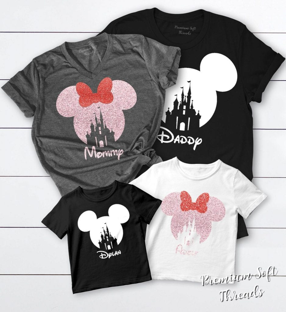 17 Awesome Disney Family Shirts [+3 Weird Ones!]
