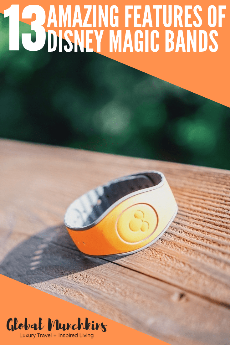 Check out these 13 amazing features of Disney magic bands! #disney #magicbands #disneyworld #disneymagicbands