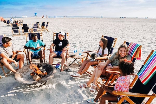 things to do in coronado - s'mores roast at the Del