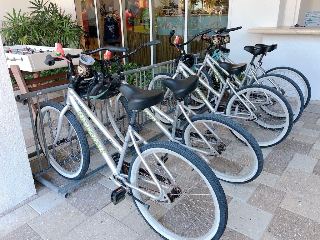 Bike Rentals at Margaritaville Hollywood FL