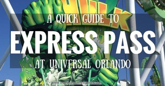 universal orlando express pass