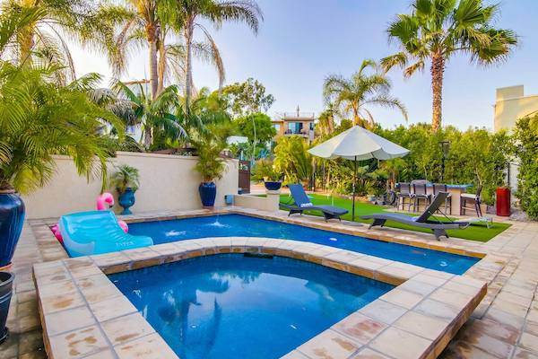 Airbnb in San Diego with Pool