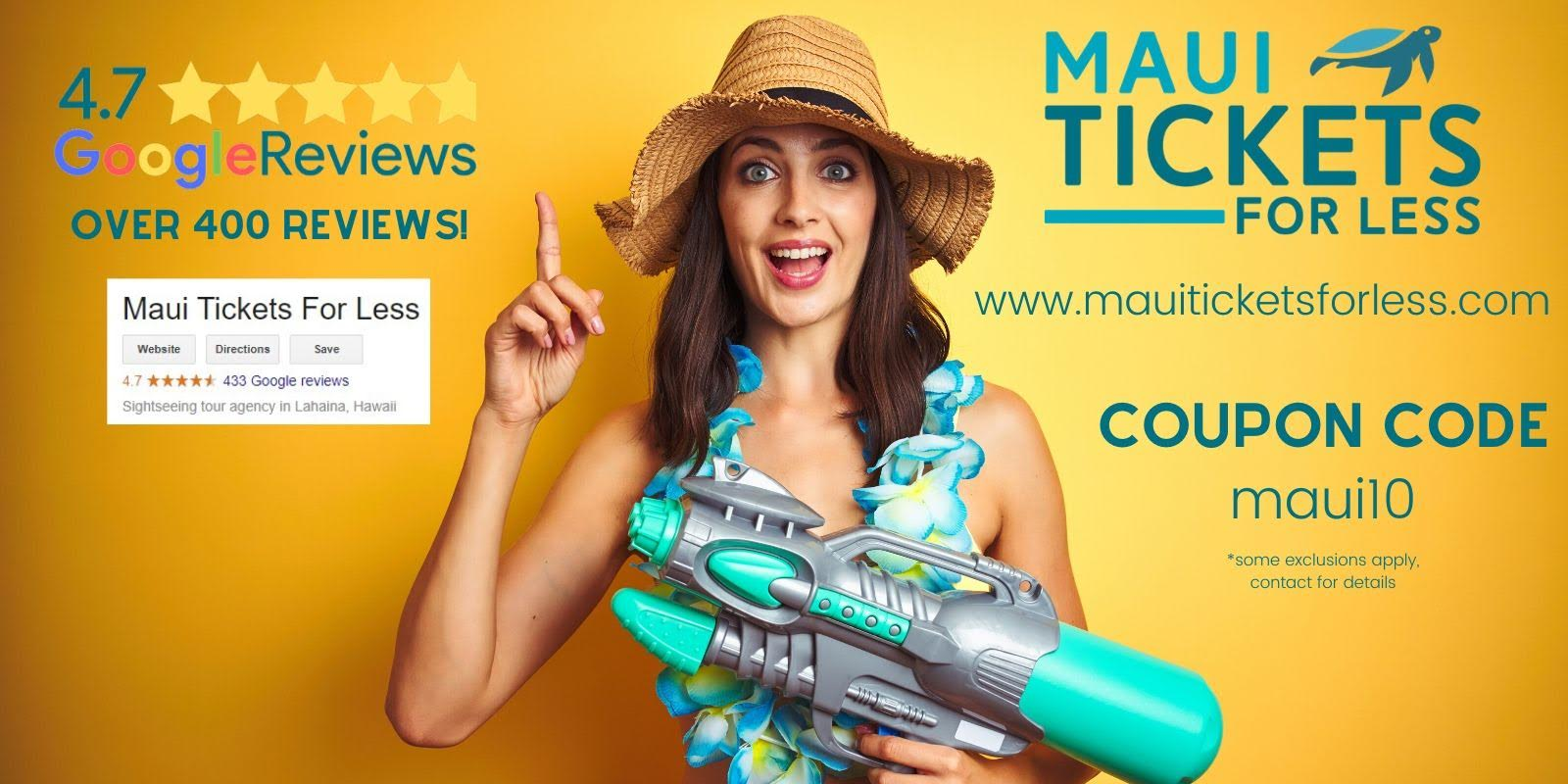 maui tickets for less