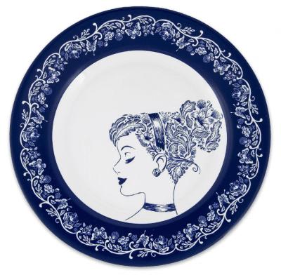 Cinderella Dessert Plate e1556129402628
