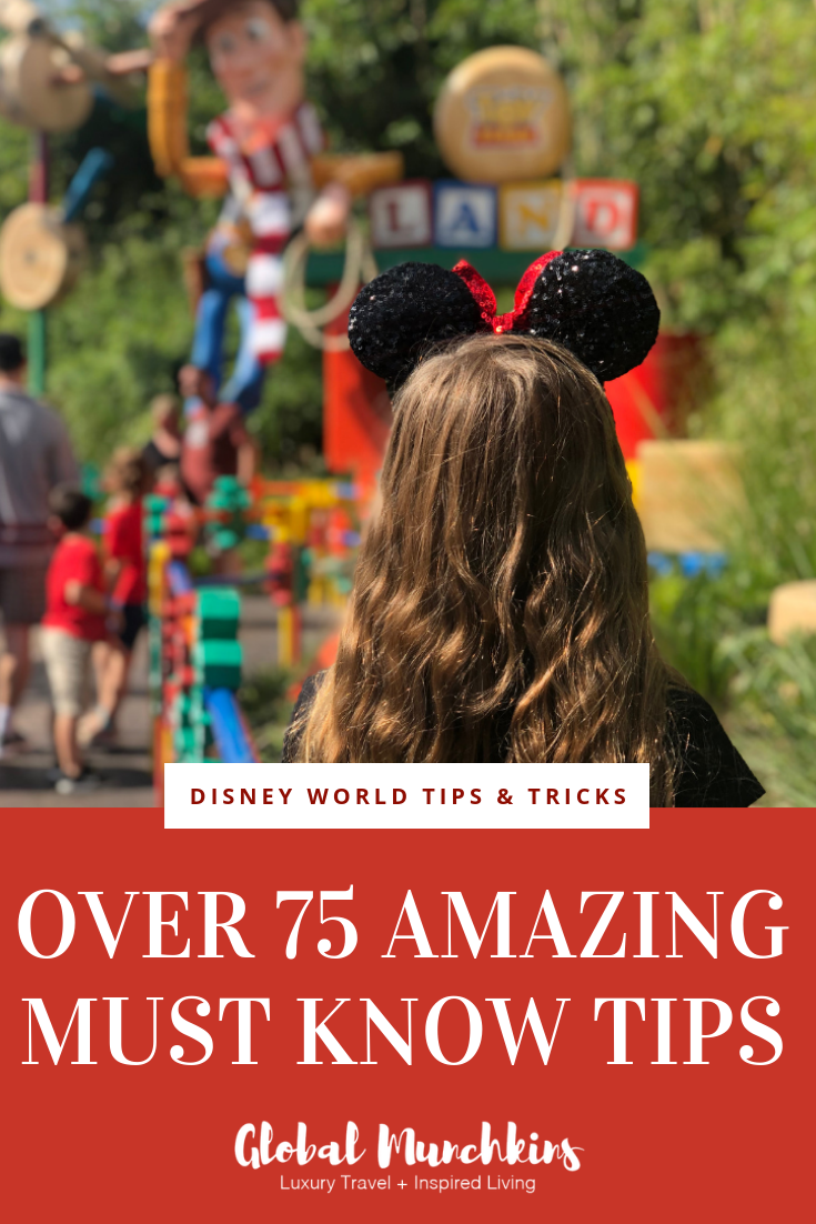 Here's a list of all my best tips, tricks, and a few Disney World secrets. Enjoy reading! #disneytips #tricks #tips #disney #disneyfun #helpfultips #vacation #travel