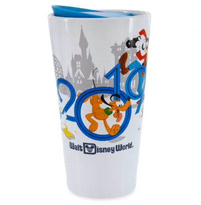 Mickey Mouse and Friends Travel Tumbler Walt Disney World 2019 e1556129361527